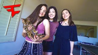 Download MY LITTLE SISTERS VISIT THE FAZE HOUSE!! Video