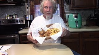 Download Air Fried Coconut Shrimp in the Basket Video