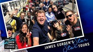 Download 'Avengers: Infinity War' Cast Tours Los Angeles w/ James Corden Video