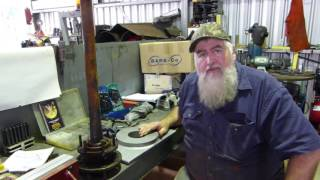 Download Making a Ferguson TE20 Tractor Axle Puller Plate Part 1 Video