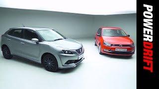Download Maruti Suzuki Baleno RS Or The Volkswagen Polo GT TSI? : PowerDrift Video