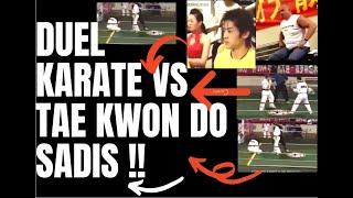 Download DUEL KARATE vs TAE KWON DO SERUU !!.... PERTANDINGAN PERSAHABATAN LUAR BIASA !! Video