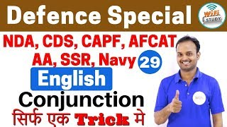 Download 11:00 PM - Defence Special English by Sanjeev Sir Day #29 | Conjunction सिर्फ एक Trick मे Video