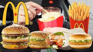 Download McDONALD'S | MUKBANG 먹방 • EATING SHOW • My Favourite Food Items Video