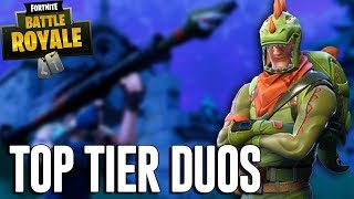 Download Top Tier Duos! - Fortnite Battle Royale Gameplay - Ninja & Dr Lupo Video