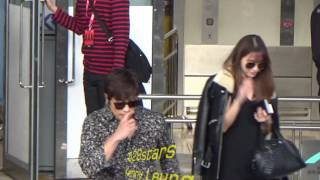 Download 韓孝珠Han Hyo Joo(한효주)、李炳憲Lee Byung Hun(이병헌)、李珉廷Lee Min Jung(이민정) Arrived Hong Kong Airport 20161201 Video