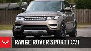Download Range Rover Sport | ″Sexual Chocolate″ | Vossen 22″ CVT Gloss Graphite Video