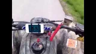 Download 03 Honda TRX 400ex TOP SPEED Video