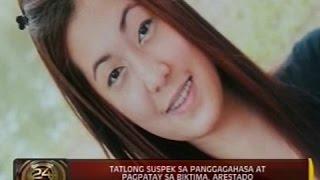 Download 24 Oras: 3 suspek sa paggagahasa at pagpatay sa 26-anyos na babae, arestado Video
