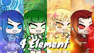 Download 4 Element api,air,sinar dan tanaman(Gacha life)//original Movie// Video