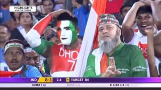Download India vs Pakistan T20 27 February 2016 Highlights Video