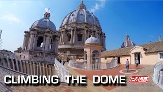 Download Rome Climbing The Dome St. Peter's Basilica Roma Salita Cupola di San Pietro Feiyutech FY-G4 Video