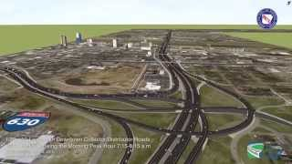 Download Proposed 10 Lane Corridor for I-30 in Little Rock Video