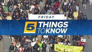 Download Five things you need to know Friday Video