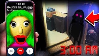 Download SUMMONING BALDI BASIC'S GIRLFRIEND IN REAL LIFE AT 3:00AM **I SAW HER!!** Video