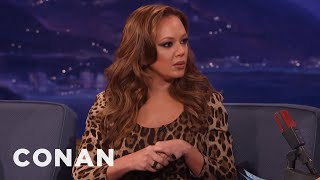 Download Leah Remini On Shelly Miscavige's Disappearance - CONAN on TBS Video