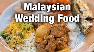 Download Amazing Food at a Malaysian Wedding and a Surprise Durian! Video