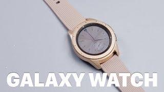 Download Mở hộp Galaxy Watch chính hãng: giá 7triệu cho bản 42mm đen/ vàng hồng, 7.5 triệu cho bản 46mm bạc Video
