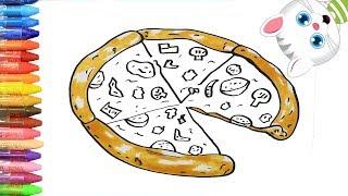 Download Pizza - Cara Menggambar dan Mewarnai TV Anak Video
