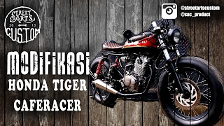 Download Modifikasi honda tiger caferacer Video