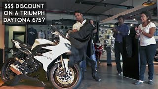 Download Discount of $$$ on a Superbike?   Triumph Daytona 675 Delivery   BS3 deal   RWR Video