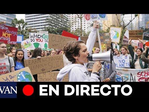 [EN DIRECTO] Jóvenes activistas se manifiestan en Berlín contra el cambio climático