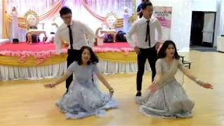Download Nepali Wedding reception performance by Holy molly group Video