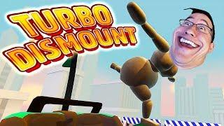 Download BROKE MY FUNNY BONE | Turbo Dismount Funny Moments #19 Video