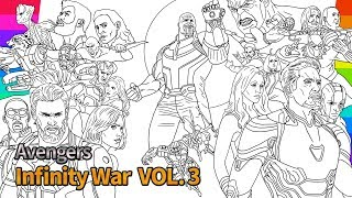 Download Marvel Avengers Infinity War | How To Draw | Super Hero | drawing and coloring pages Video