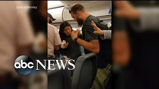 Download 2 families outraged after incident with service dog on flight Video