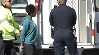 Download Woman Hits Police Car Near Capitol, Arrested Video