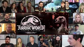 Download Jurassic World: Fallen Kingdom Final Trailer REACTIONS MASHUP Video