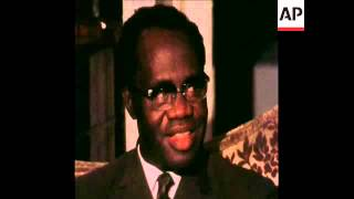 Download SYND 13-1-72 OVERTHROWN PRIME MINISTER BUSIA OF GHANA INTERVIEWED IN LONDON Video
