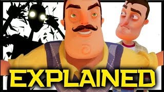 Download Hello Neighbor EXPLAINED - The Real Sad Story | Hello Neighbor Game Theory Video