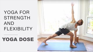 Download Yoga For Strength And Flexibility   Yoga Dose Video