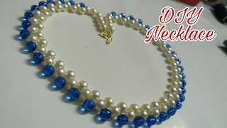 Download DIY Designer Pearl Necklace || DIY Beaded Necklace || DIY Party Ware Necklace || Fashion Trends Video
