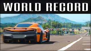 Download NEW 0-400-0 WORLD RECORD | Forza Horizon 4 | Forza Science #7 Video