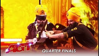 Download Bir Khalsa: Indian Sikhs Nearly KILL Each Other In Risky Danger Act | America's Got Talent 2019 Video