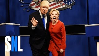Download Donald Trump vs. Hillary Clinton Debate Cold Open - SNL Video