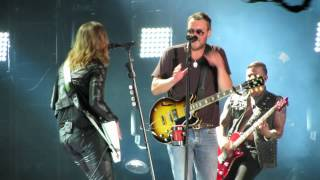 Download Eric Church, Lzzy Hale ″That's Damn Rock & Roll″ CMAFest 2014 Video