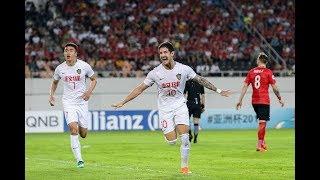 Download Guangzhou Evergrande 2-2 Tianjin Quanjian FC (AFC Champions League 2018: Round of 16 – 2nd Leg) Video