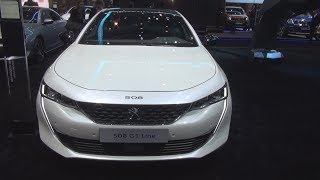 Download Peugeot 508 GT Line BlueHDi 180 S&S EAT8 (2018) Exterior and Interior Video