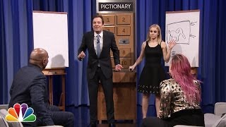 Download Pictionary with Kristen Bell, Steve Harvey and Demi Lovato - Part 1 Video