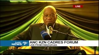 Download Pres Zuma addresses KZN ANC Cadres Video