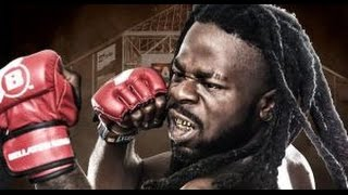 """Download Kimbo Slice's son Kevin """"Baby Slice"""" Ferguson Jr. gets tapped out in pro MMA Debut Video"""