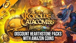Download [Hearthstone] Discount Kobolds & Catacombs Packs w/ Amazon Coins Video