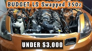 Download HOW TO LS Swap Your 350z For Under $3,000!!! Video