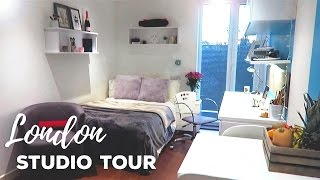 Download London Studio Apartment Tour! | GradPad Studios, London | Atousa Video