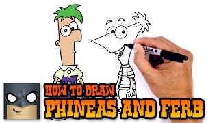Download How to Draw Phineas and Ferb   Drawing Tutorial Video