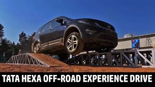 Download Tata Hexa Off-Road Experience Drive | QuikrCars Video